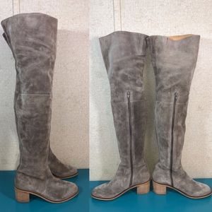 Seychelles Thigh High Suede Boots